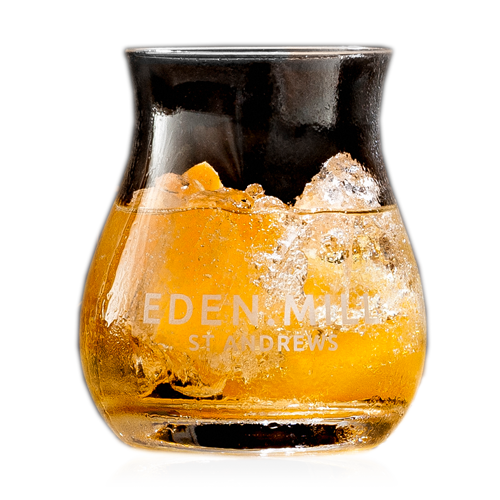 A SLICE OF ORANGE, WITH GINGER ALE
