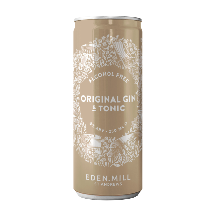 Alcohol Free Original Gin And Tonic | Eden Mill Distillery St Andrews