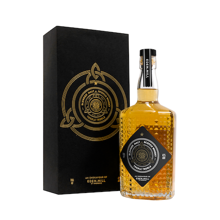 Treble Treble Blended Malt Whisky | Eden Mill Distillery St Andrews