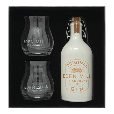 Original Gin 50CL Ceramic Gift Set | Eden Mill Distillery St Andrews