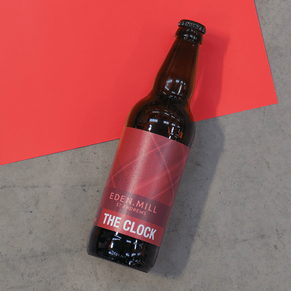 The Clock Red Ale Beer (12X500ML)   Eden Mill Distillery St Andrews