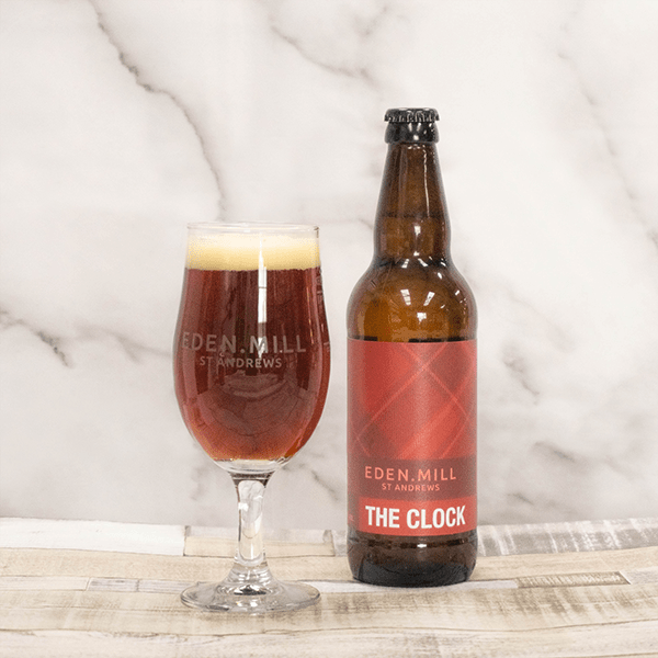 The Clock Red Ale Beer (12X500ML) | Eden Mill Distillery St Andrews