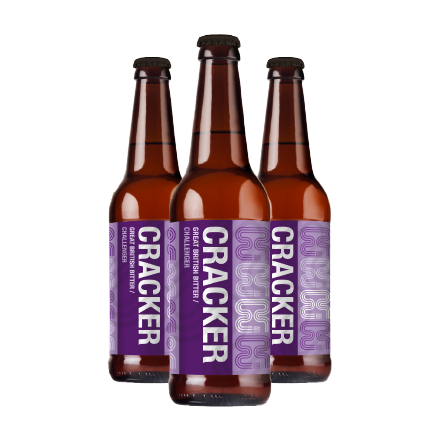 Cracker 500ML Beer by Eden River Brew Co. (Case of 12) | Eden Mill Distillery St Andrews