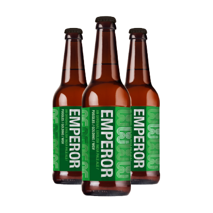 Emperor 500ML Beer by Eden River Brew Co. (Case of 12) | Eden Mill Distillery St Andrews