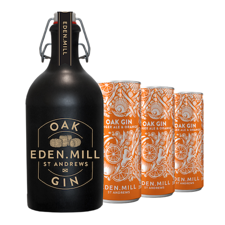Oak Gin and Pre-mixed Can Bundle | Eden Mill Distillery St Andrews