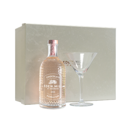 Chocolate & Chilli Gin Martini Gift Box | Eden Mill Distillery St Andrews