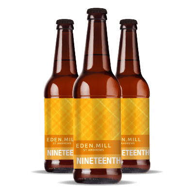 Nineteenth Brew Scottish Blonde Ale (12x500ML) | Eden Mill Distillery St Andrews