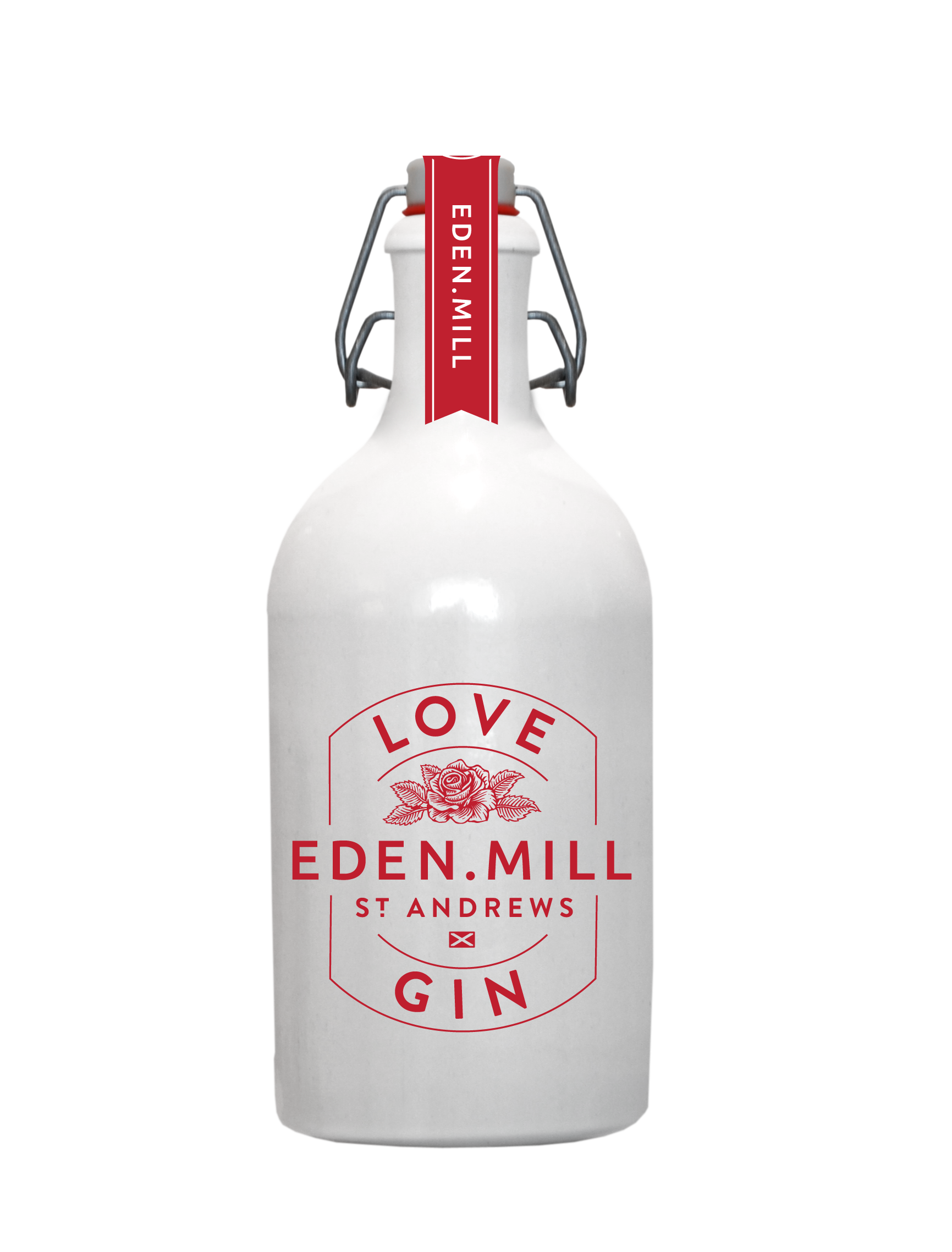 Clearance Love Gin Ceramic 50CL | Eden Mill Distillery St Andrews