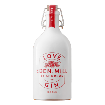 Love Gin, Ceramic Pink Gin 50CL | Eden Mill Distillery St Andrews