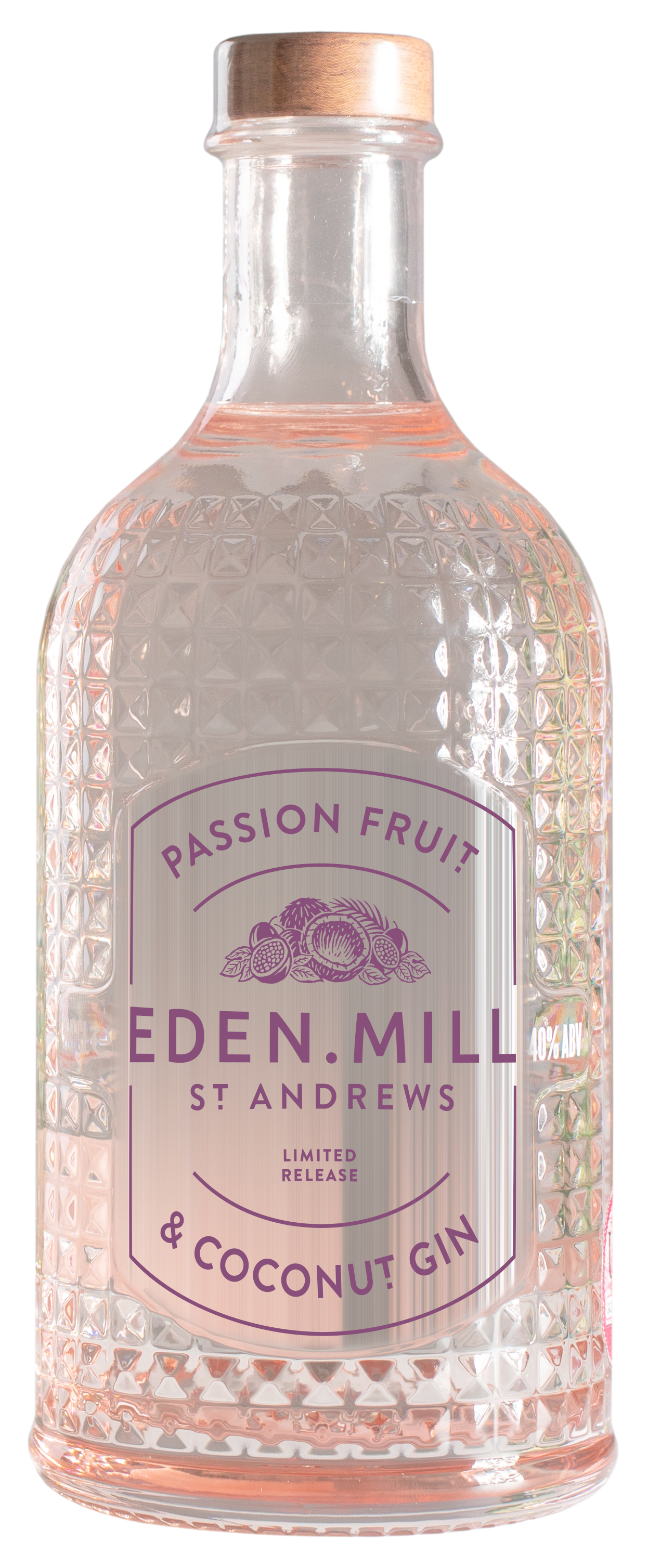 Passion Fruit & Coconut Gin, Seasonal 50CL | Eden Mill Distillery St Andrews