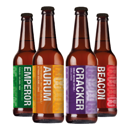 Eden River Brew Co. Beer (4x500ML) | Eden Mill Distillery St Andrews