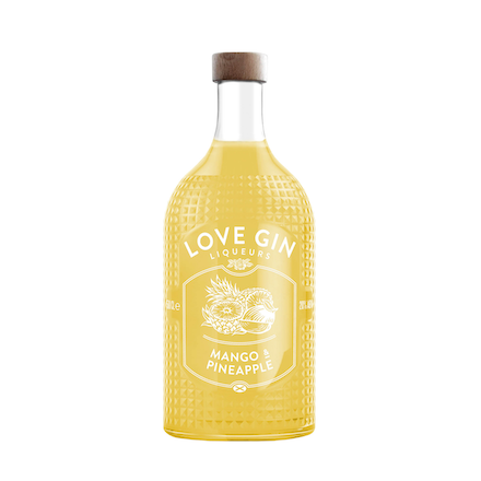 Mango And Pineapple  Liqueur, Glass 50CL | Eden Mill Distillery St Andrews