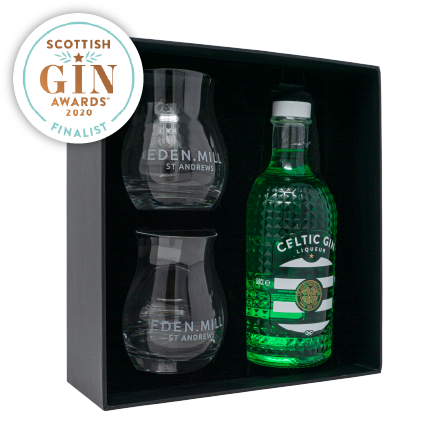Celtic Gin Liqueur Gift Set - Collaboration with Celtic Football Club | Eden Mill Distillery St Andrews