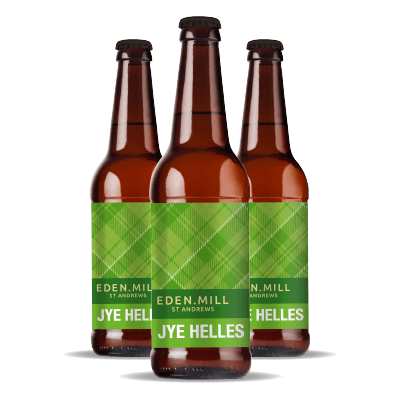 Jye Helles Pale Lager (12x500ML) | Eden Mill Distillery St Andrews