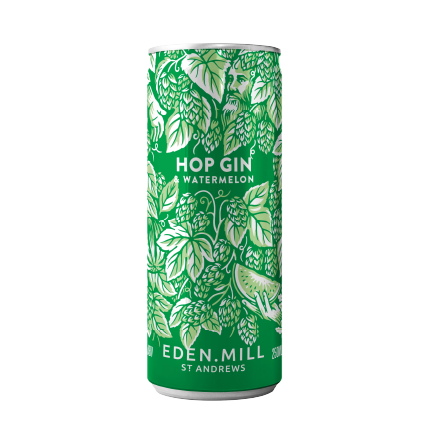 Hop Gin and Watermelon Pre-Mixed Can  | Eden Mill Distillery St Andrews