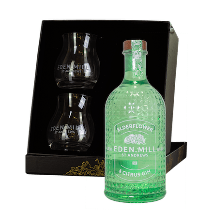 Elderflower & Citrus Gin Gift Set  | Eden Mill Distillery St Andrews