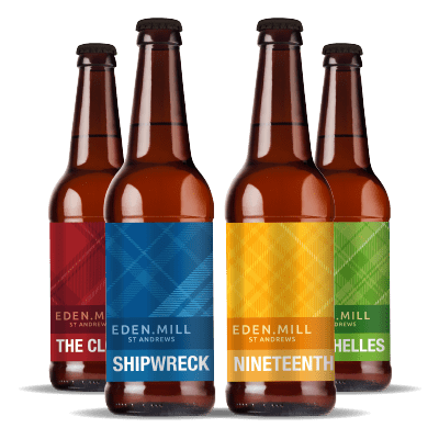 Eden Mill St Andrews Beer Mixed (12x500ML) | Eden Mill Distillery St Andrews