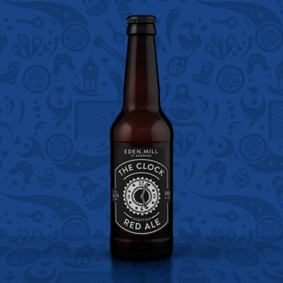 The Clock Red Ale (12 Case) | Eden Mill Distillery St Andrews
