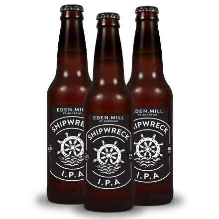 Shipwreck IPA Bottles (24 Case) | Eden Mill Distillery St Andrews