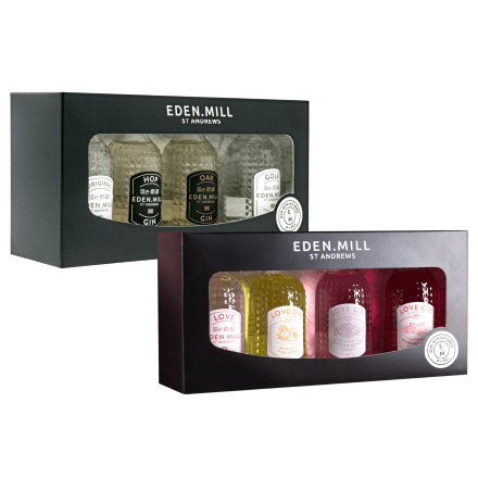 Gin Miniature Set Treat Box | Eden Mill Distillery St Andrews