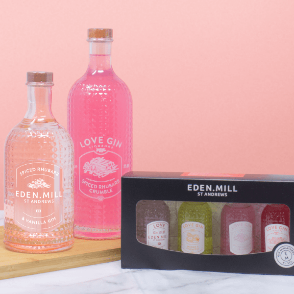 Spiced Rhubarb Treat Box | Eden Mill Distillery St Andrews