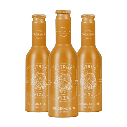 Citrus Fizz Original Gin Cocktail (12 Pack) | Eden Mill Distillery St Andrews