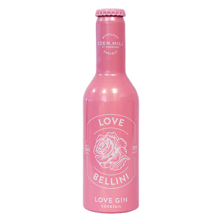 Love Bellini Love Gin Cocktail | Eden Mill Distillery St Andrews