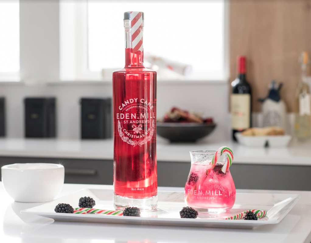 Candy Cane Christmas Gin | Eden Mill Distillery St Andrews