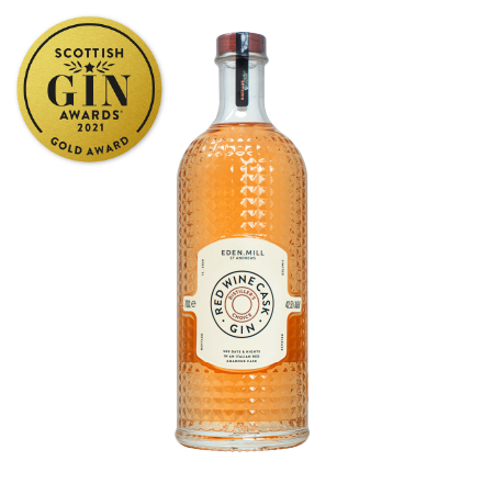 Red Wine Cask Aged Gin | Eden Mill Distillery St Andrews