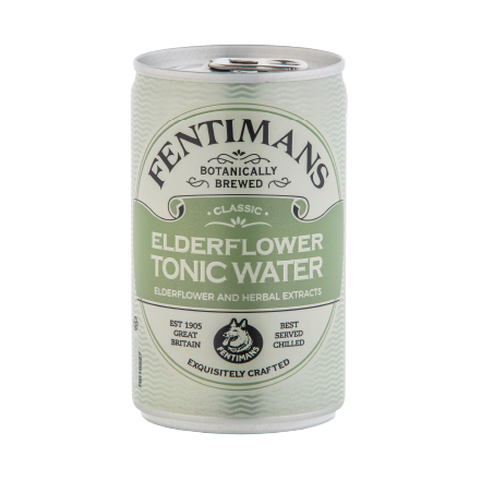 Fentimans Valencian Sparkling Elderflower 150ML Can | Eden Mill Distillery St Andrews