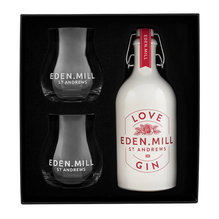 Love Gin 50CL Ceramic Gift Set | Eden Mill Distillery St Andrews