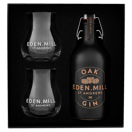 Oak Gin 50CL Gift Set | Eden Mill Distillery St Andrews