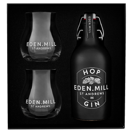 Hop Gin 50CL Gift Set | Eden Mill Distillery St Andrews