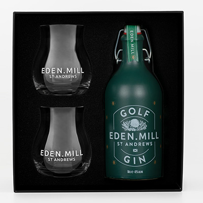 Golf Gin 50CL Gift Set | Eden Mill Distillery St Andrews