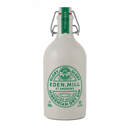 Glory Glory Hibernian Football Club Dry Gin, 50CL | Eden Mill Distillery St Andrews