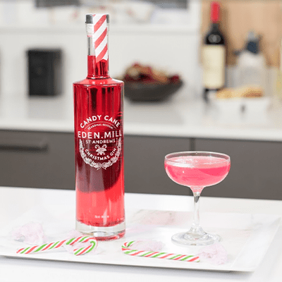 Candy Cane Christmas Gin 70CL | Eden Mill Distillery St Andrews