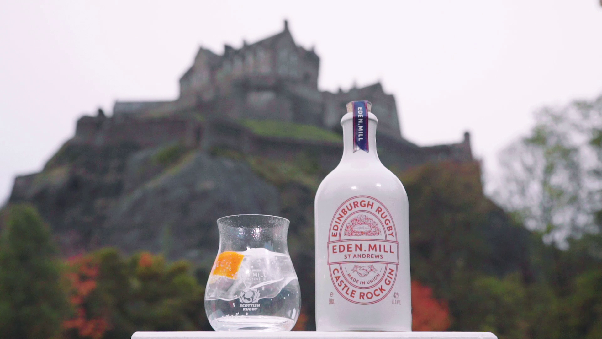 Edinburgh Rugby Gin | Eden Mill Distillery St Andrews