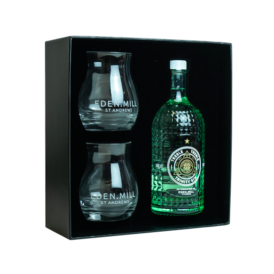 Treble Treble Gin Gift Set - Collaboration With Celtic Football Club | Eden Mill Distillery St Andrews