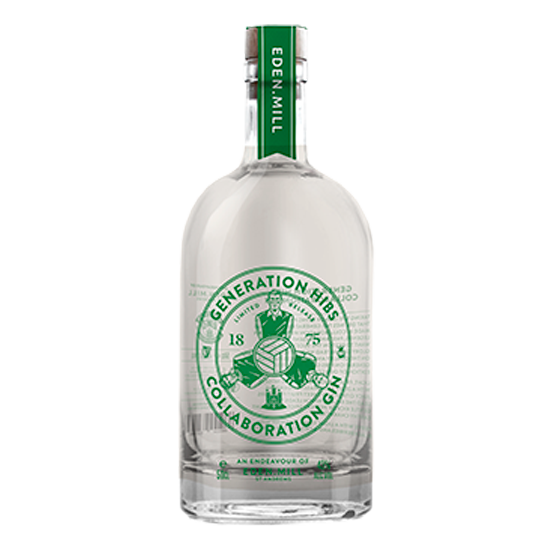 Generation Hibs Gin - Collaboration with Hibernian Football Club | Eden Mill Distillery St Andrews