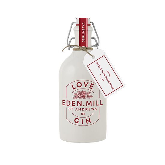 Valentines Day Love Gin | Eden Mill Distillery St Andrews