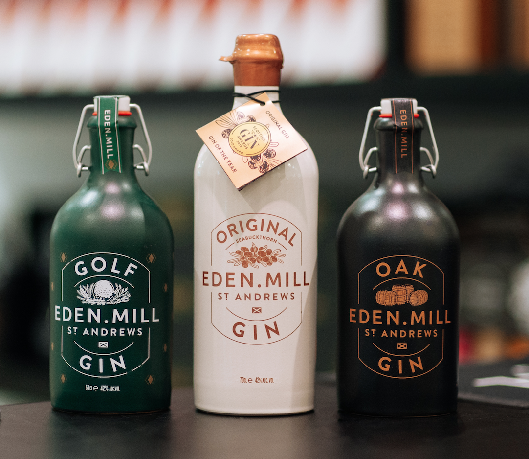 Eden Mill Gin Flight School at Blendworks Glasgow | Eden Mill Distillery St Andrews