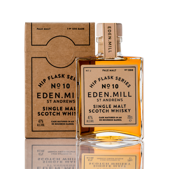 Hip Flask Series No 10 | Eden Mill Distillery St Andrews
