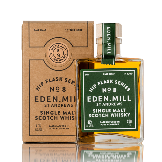 Hip Flask Series No 8  | Eden Mill Distillery St Andrews