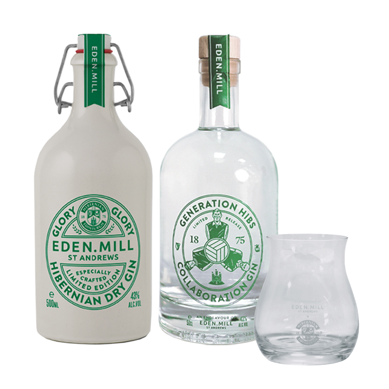 Hibernian F.C Bundle | Eden Mill Distillery St Andrews