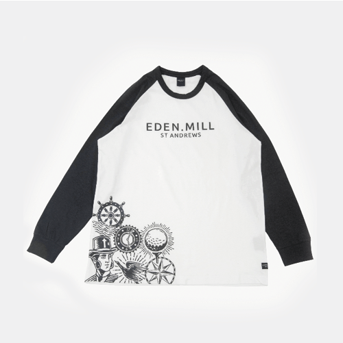Long Sleeved Crew Neck  | Eden Mill Distillery St Andrews