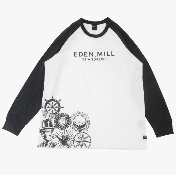 Eden Mill Long Sleeved Crew Neck | Eden Mill Distillery St Andrews