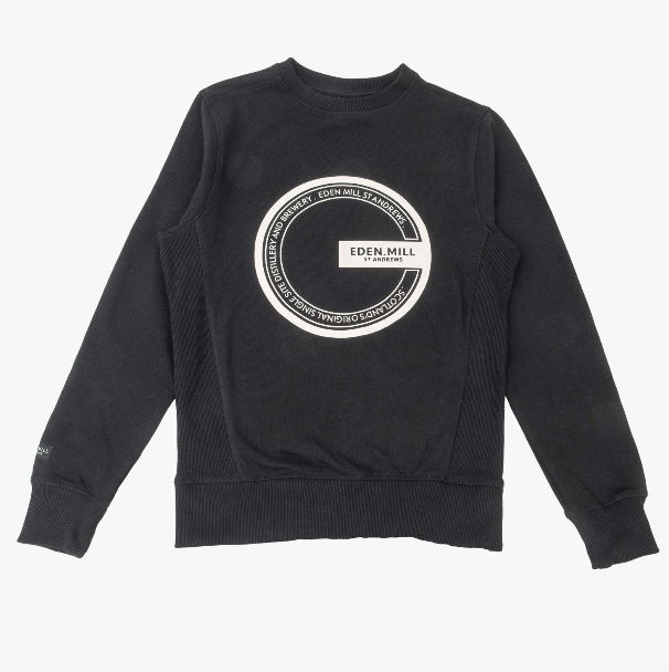 Black Eden Mill Sweater | Eden Mill Distillery St Andrews