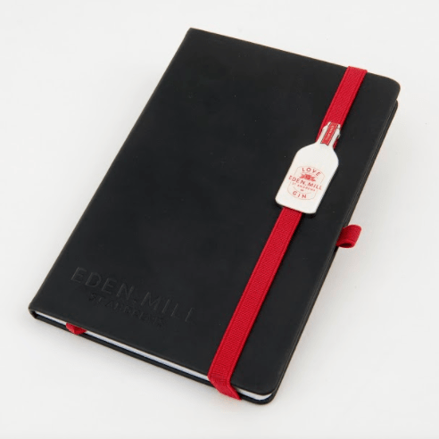 Love Gin Note Book | Eden Mill Distillery St Andrews
