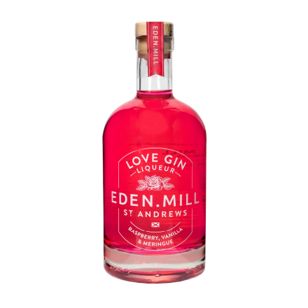 Love Gin Liqueur, Glass 70CL | Eden Mill Distillery St Andrews