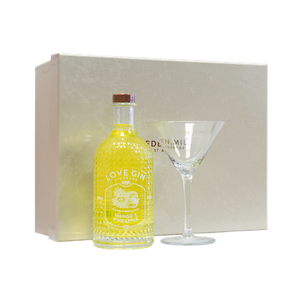 Mango & Pineapple Liqueur 50CL Gift Set | Eden Mill Distillery St Andrews